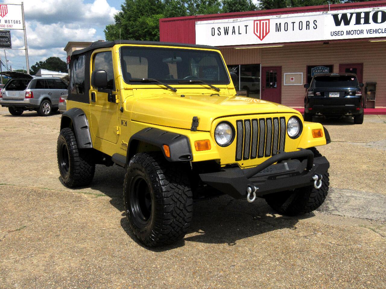 2004 Jeep Wrangler 2dr X