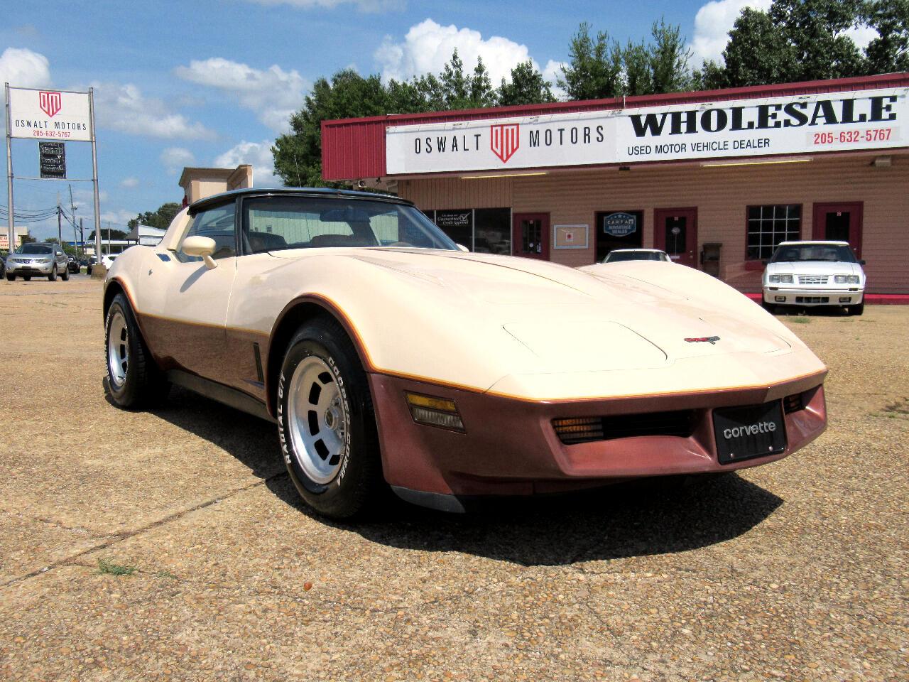 1981 Chevrolet Corvette Bowling Green Edition / 1LT