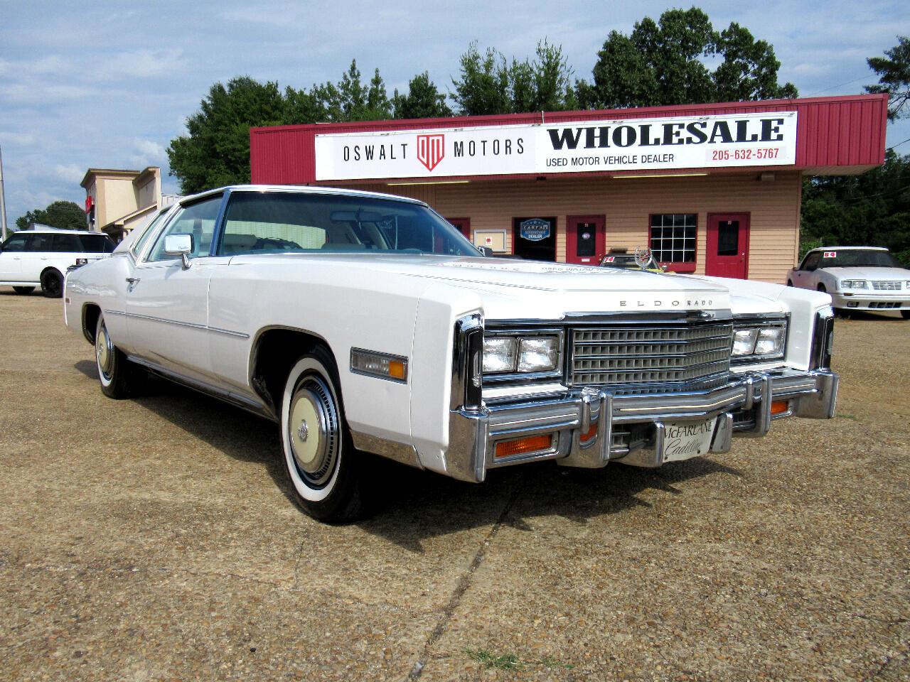 1978 Cadillac Eldorado 2dr Cpe