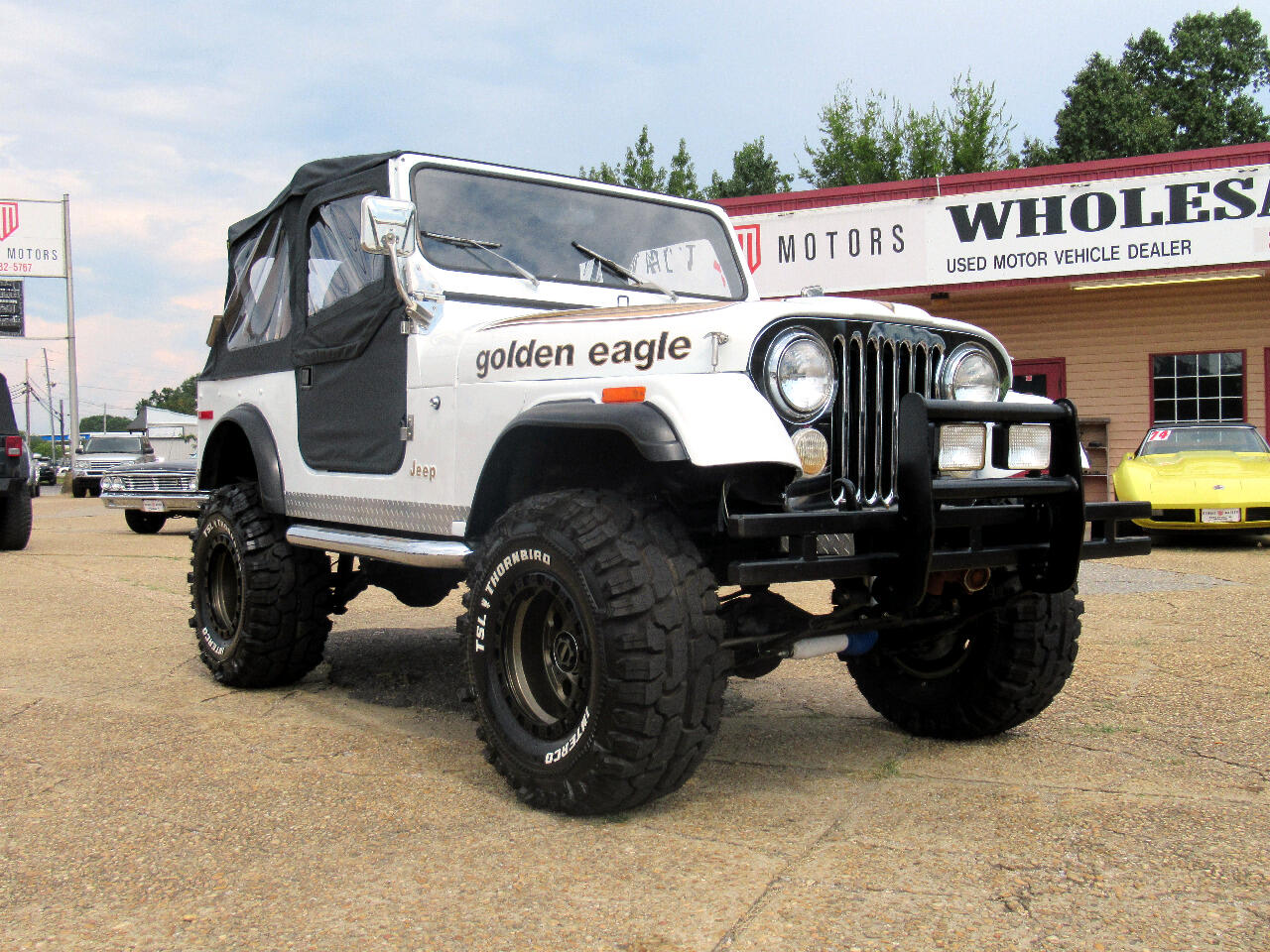 1978 Jeep CJ-7 Golden Eagle