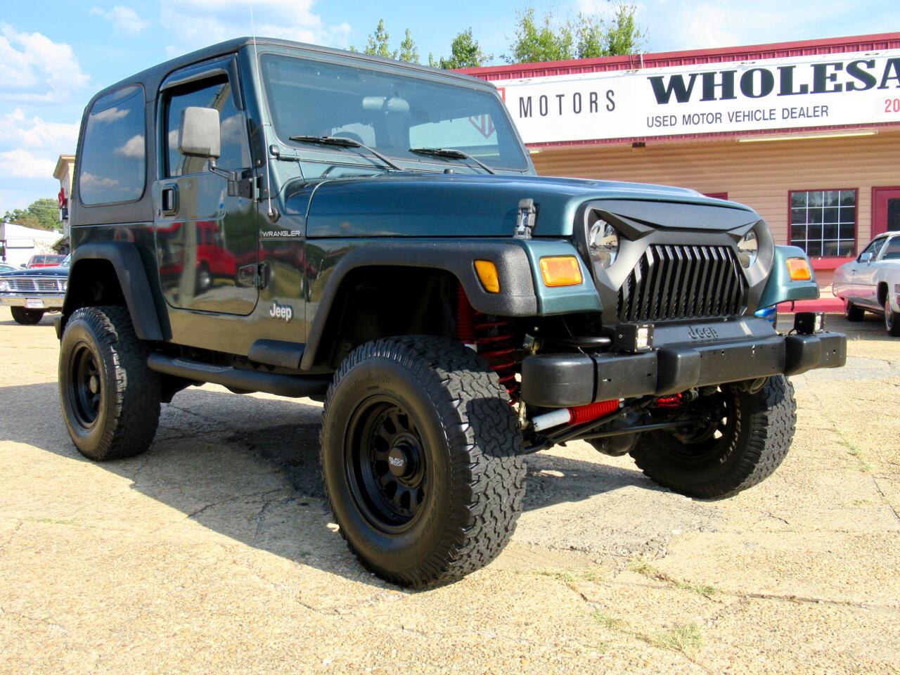 2002 Jeep Wrangler 2dr SE