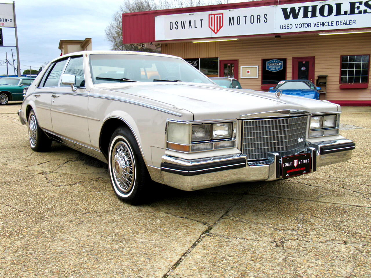 Cadillac Seville 4dr Luxury Sdn SLS 1984