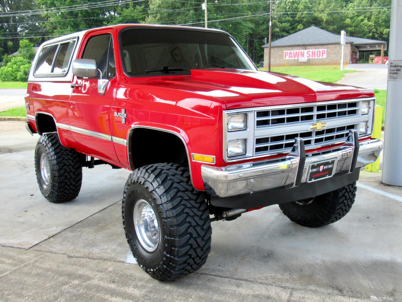 Chevrolet Blazer  1987