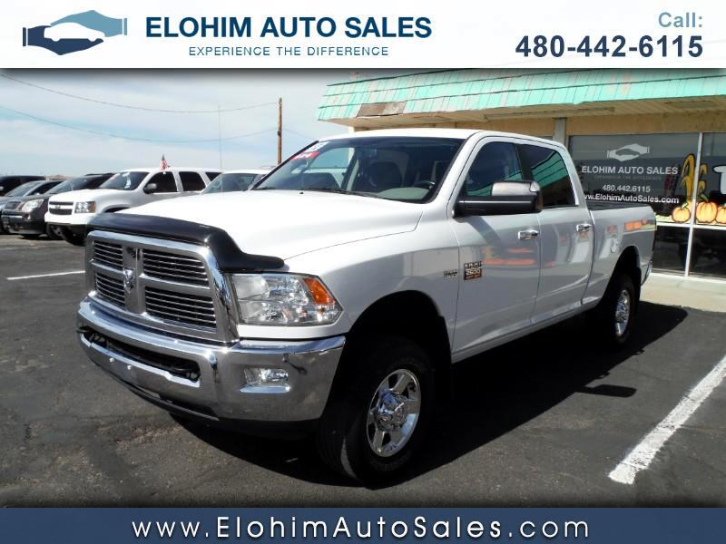 2012 Dodge Ram Pickup 2500 SLT Quad Cab Short Bed 4WD