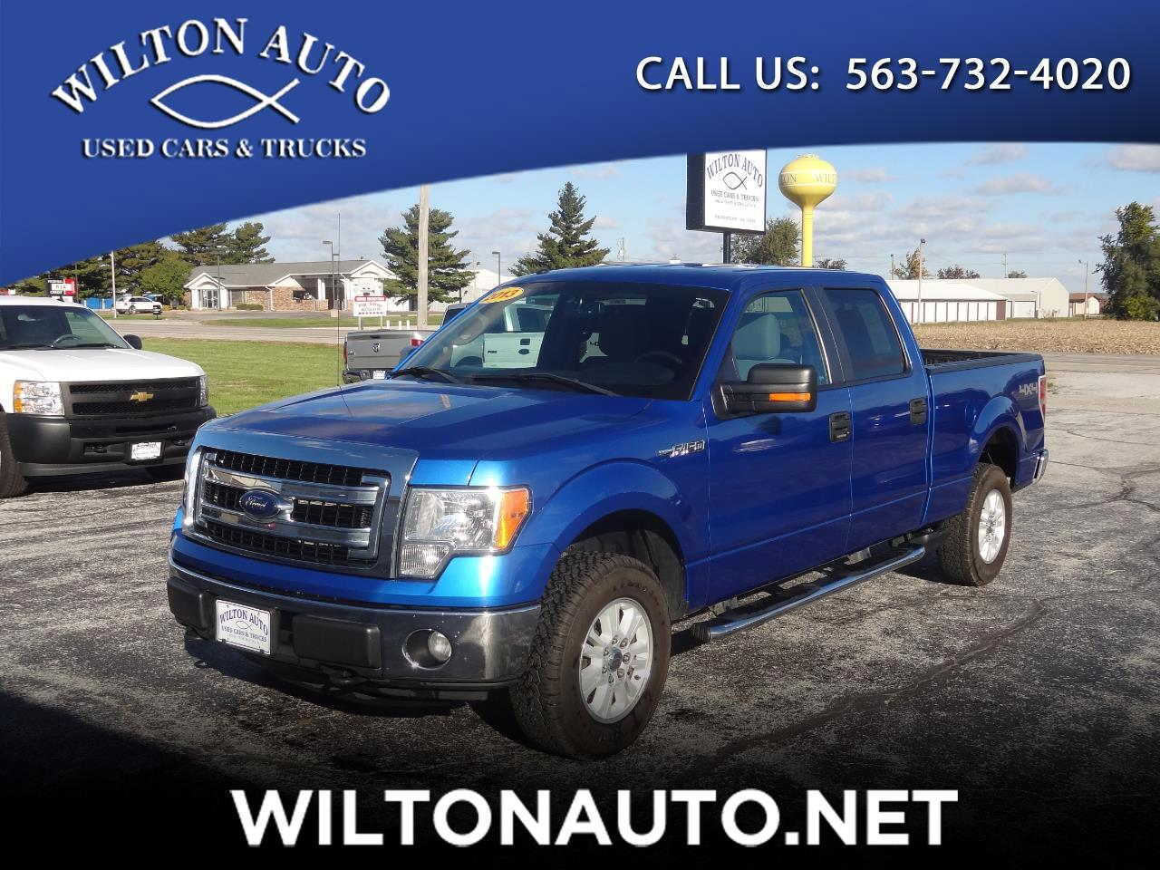 "2013 Ford F-150 4WD SuperCrew 157"" XLT w/HD Payload Pkg"