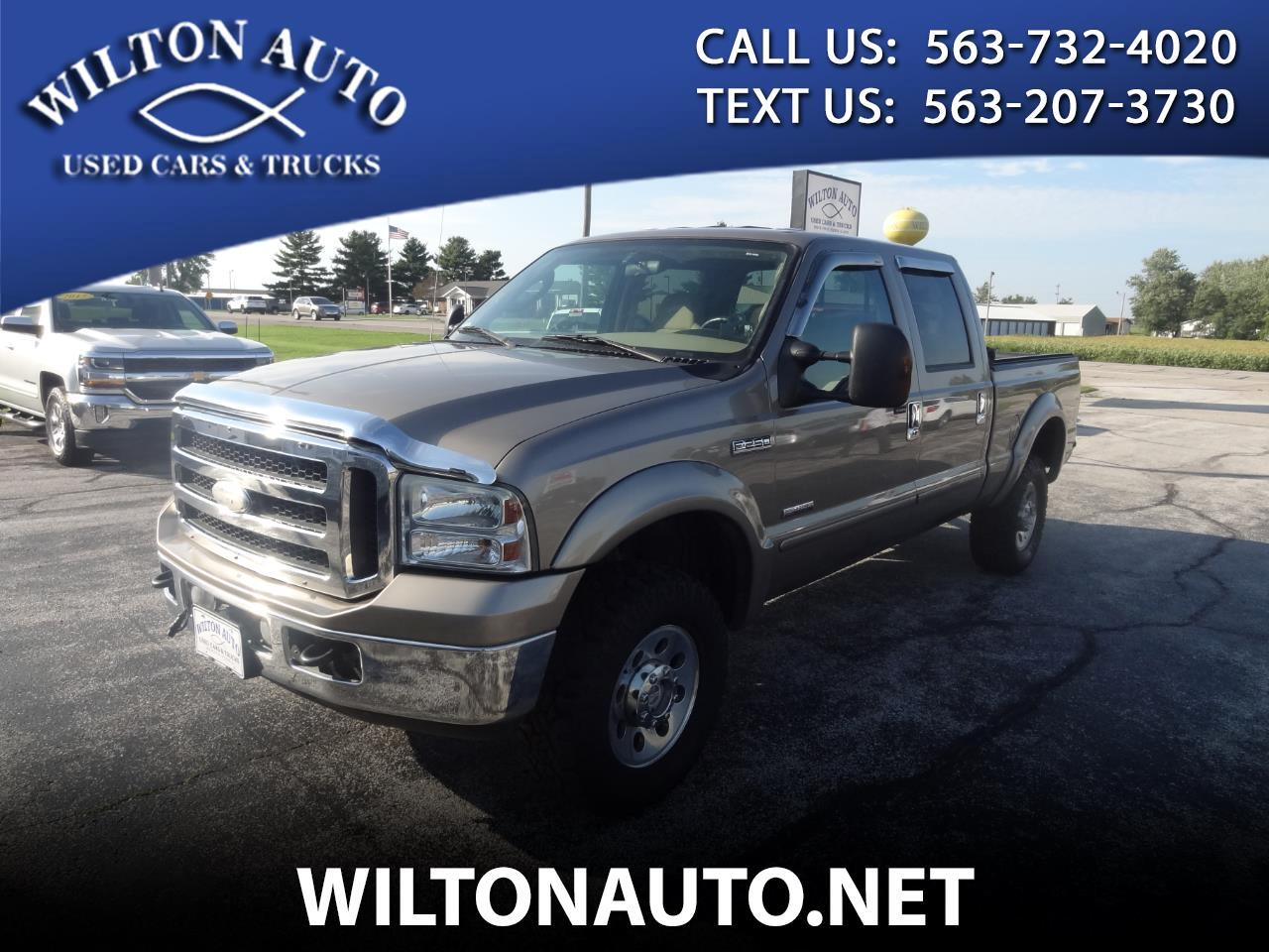 "2005 Ford Super Duty F-250 4WD Crew Cab 156"" XLT"