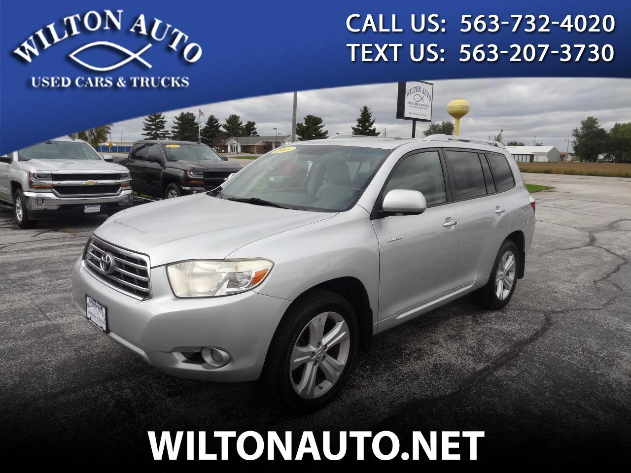 2008 Toyota Highlander 4WD 4dr Limited (Natl)