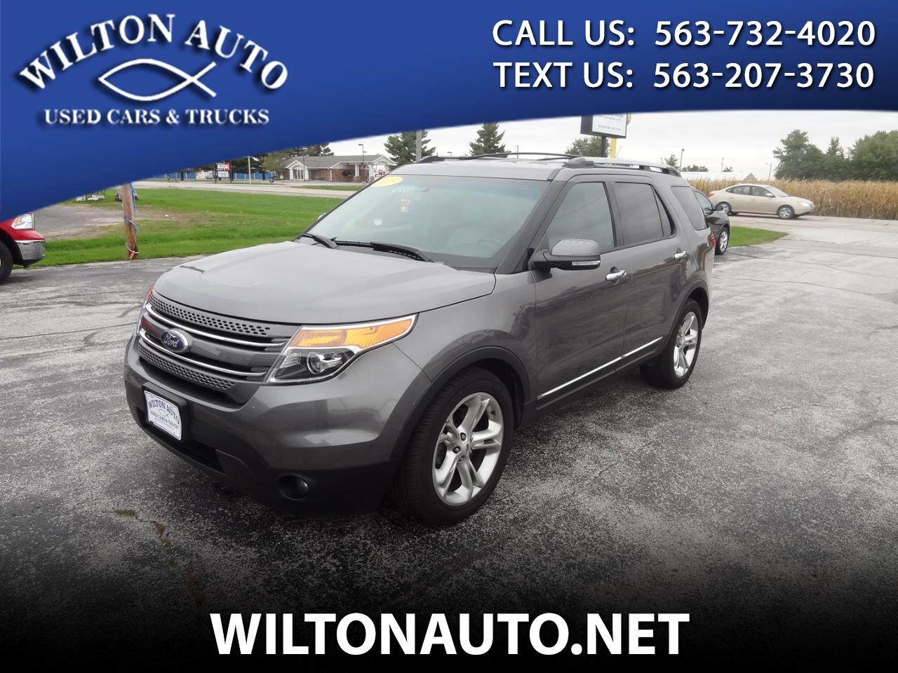 Ford Explorer FWD 4dr Limited 2013