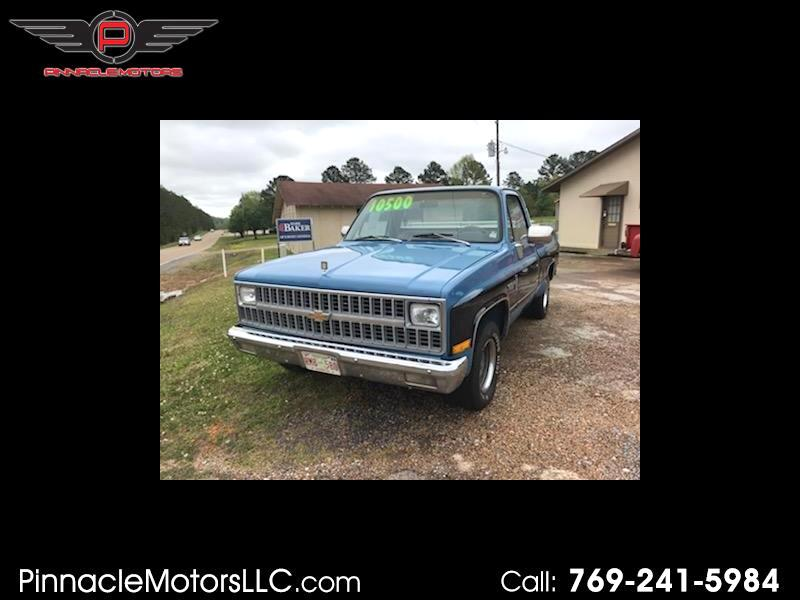 1982 Chevrolet C/K 10 Regular Cab 2WD
