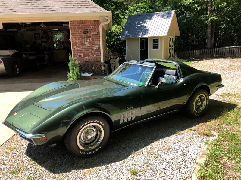 Chevrolet Corvette Stingray 1LT Coupe Manual 1969