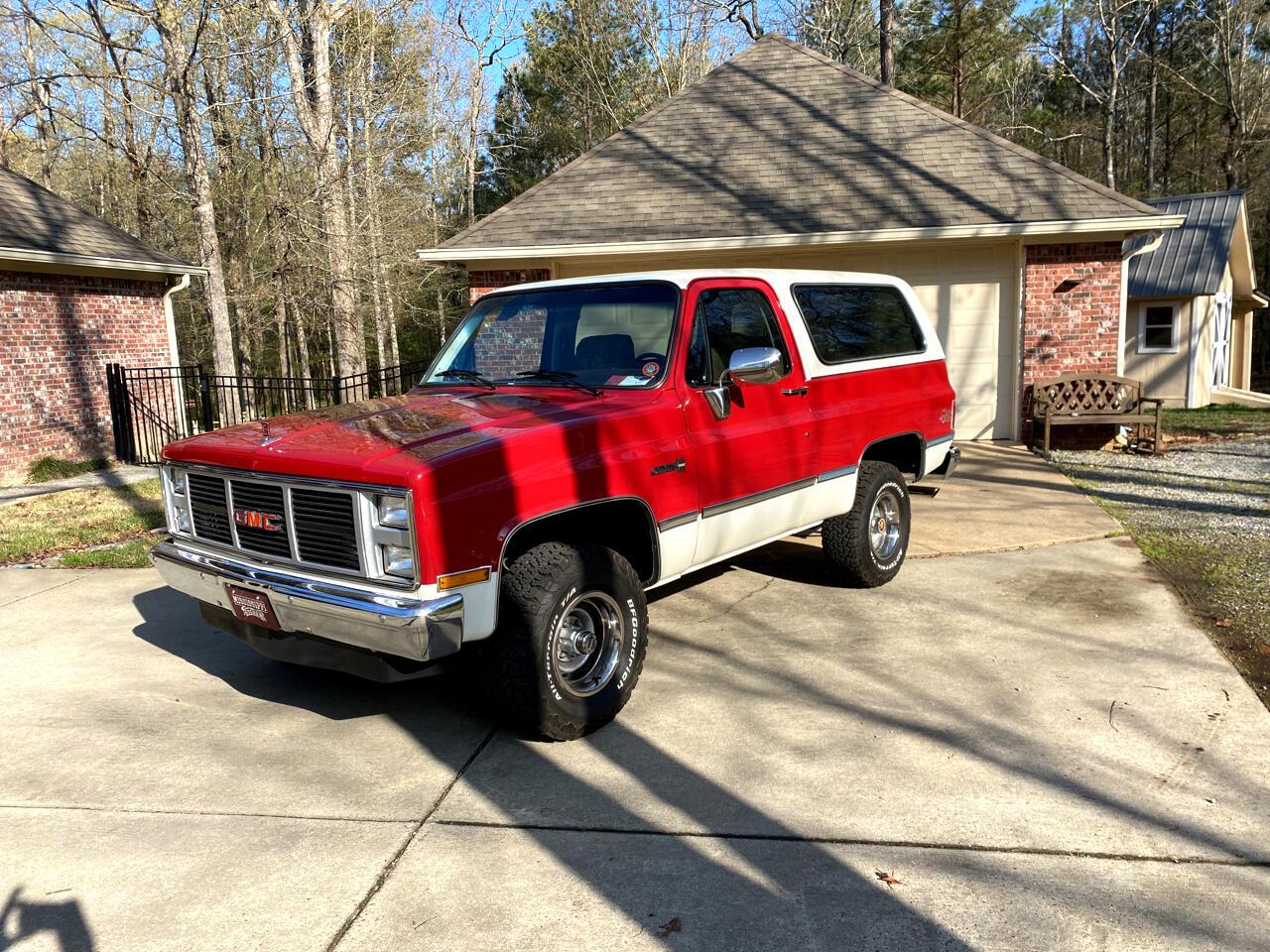 GMC Jimmy C/K 1500 Sierra 4WD 1985