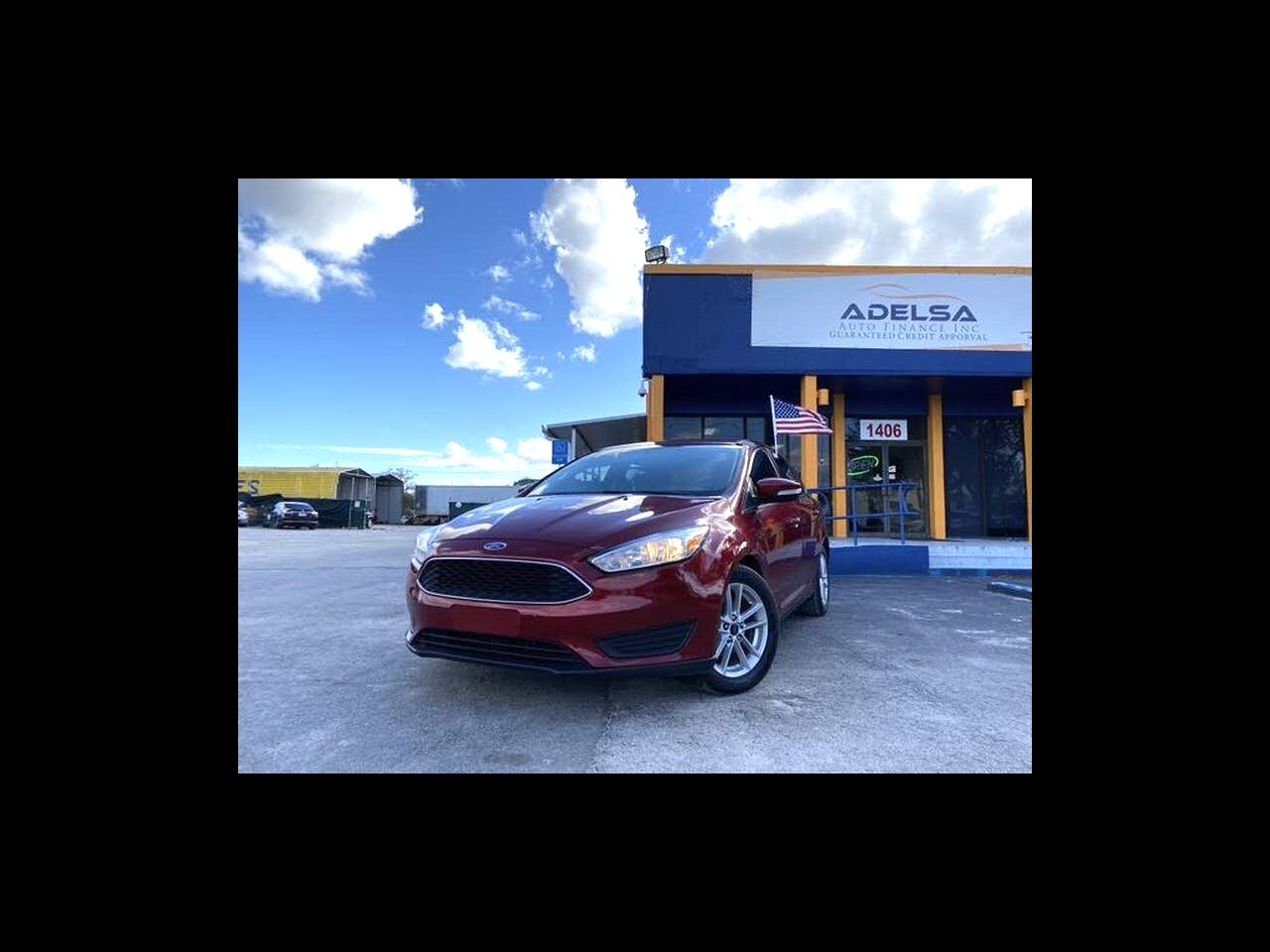 Ford Focus SE Sedan 2017