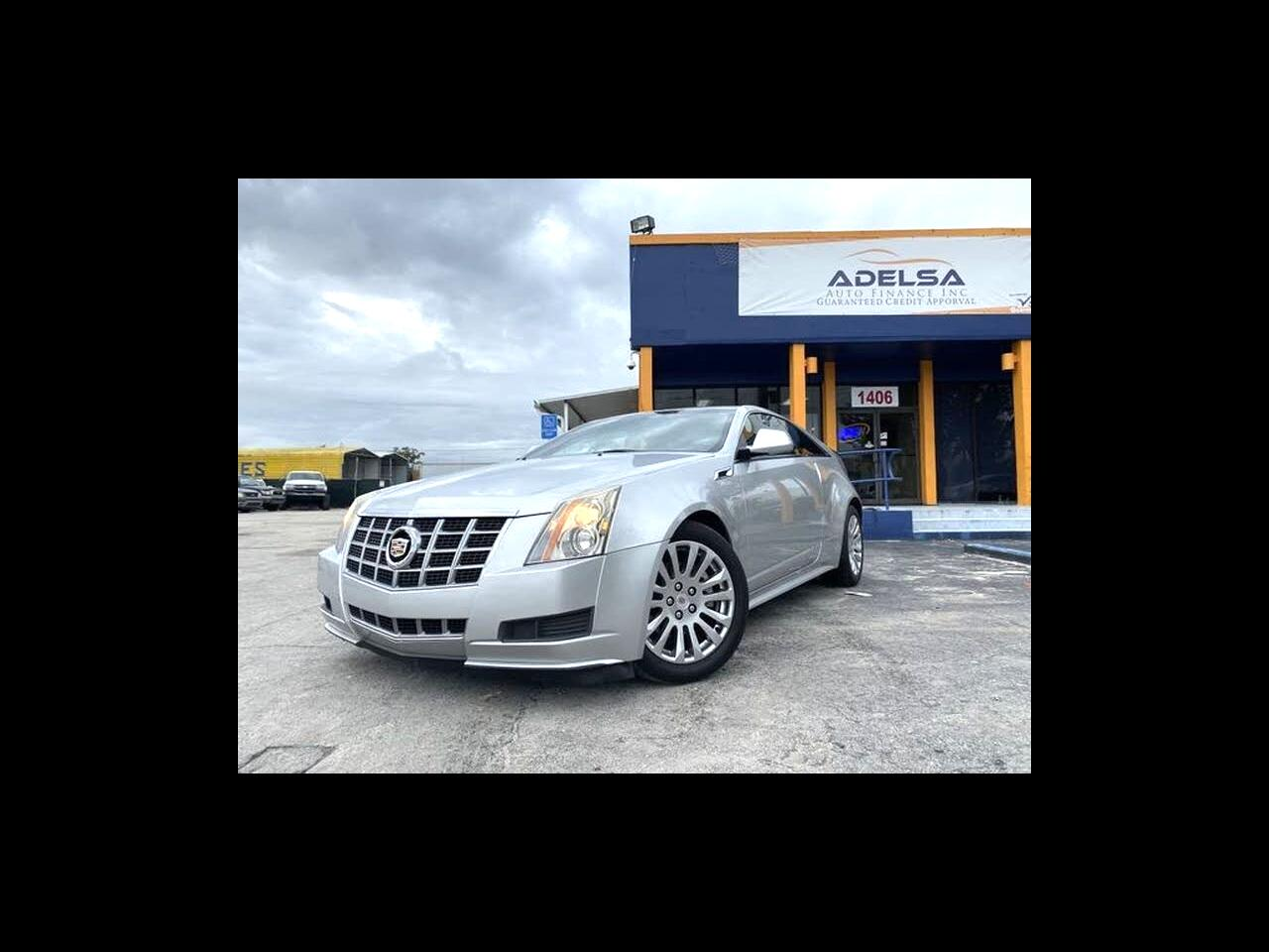 Cadillac CTS Coupe Standard RWD 2014
