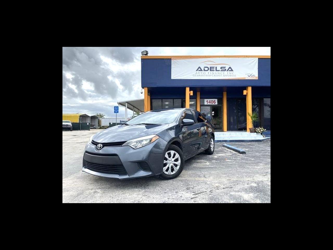 Toyota Corolla S Premium CVT 2015