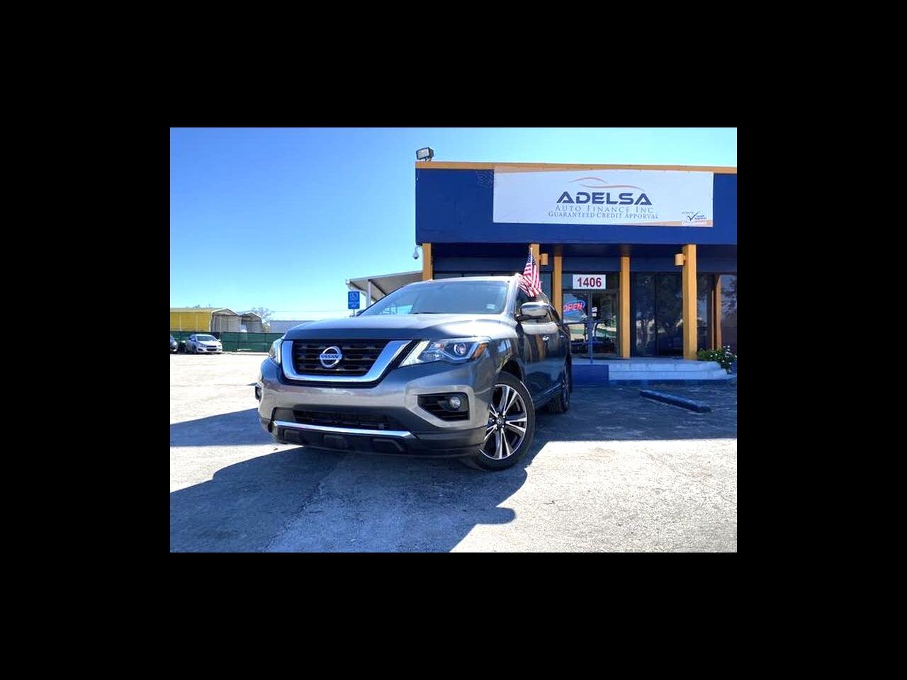 Nissan Pathfinder Platinum 2WD 2017