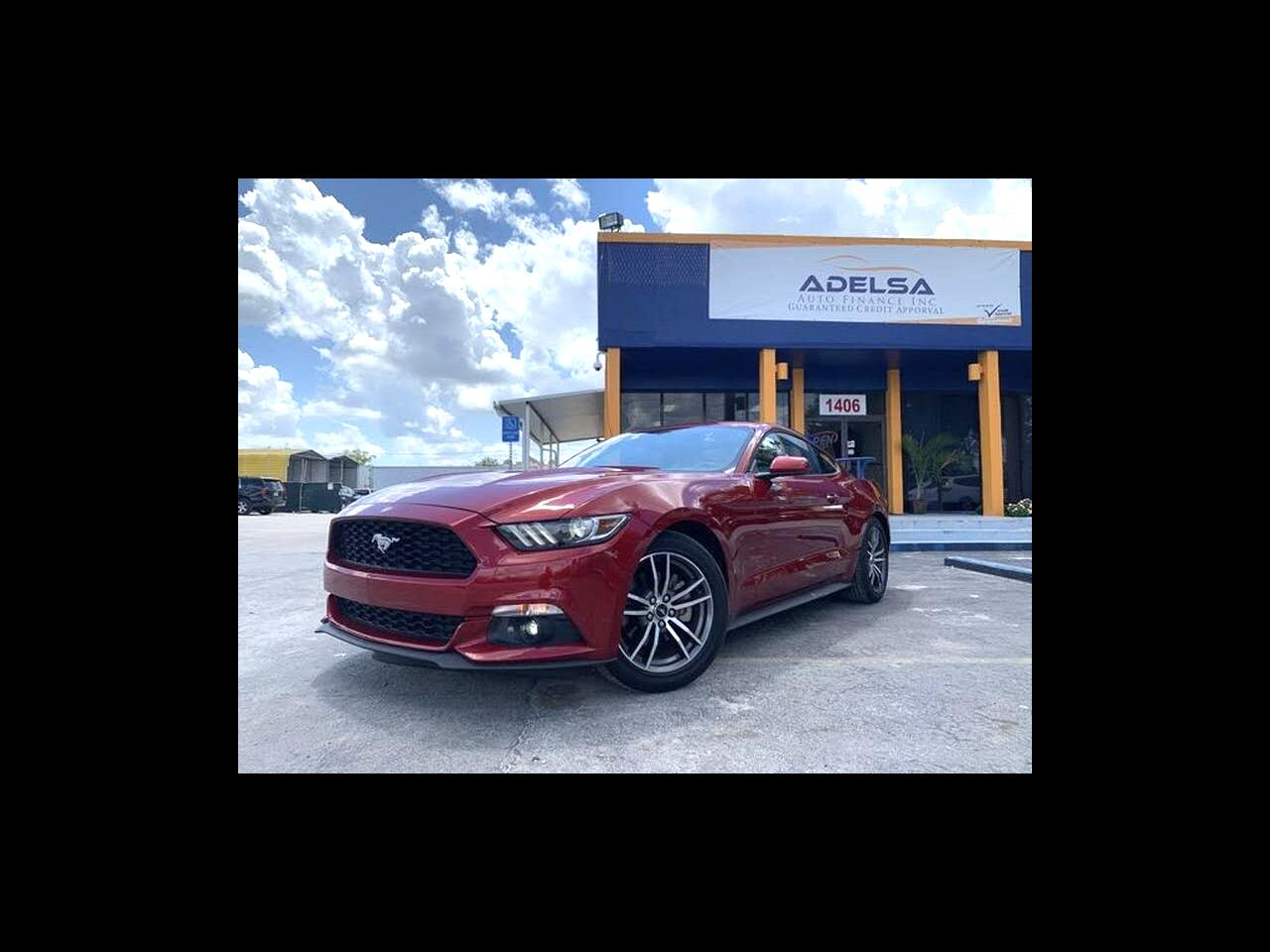 Ford Mustang EcoBoost Coupe 2017