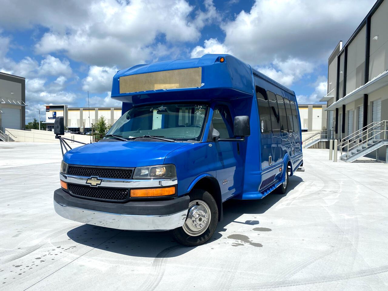 "Chevrolet Express Commercial Cutaway RWD 4500 159"" WB Diesel 2012"
