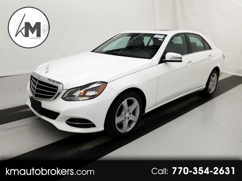 Mercedes-Benz E-Class E250 Sport BlueTEC 4MATIC Sedan 2015