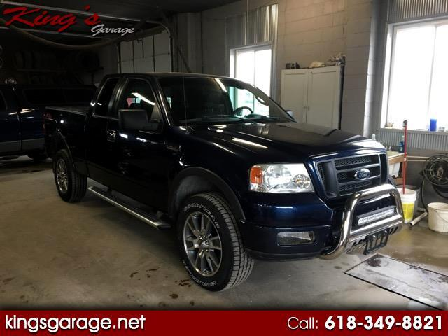 "2005 Ford F-150 4WD SuperCab 145"" FX4"