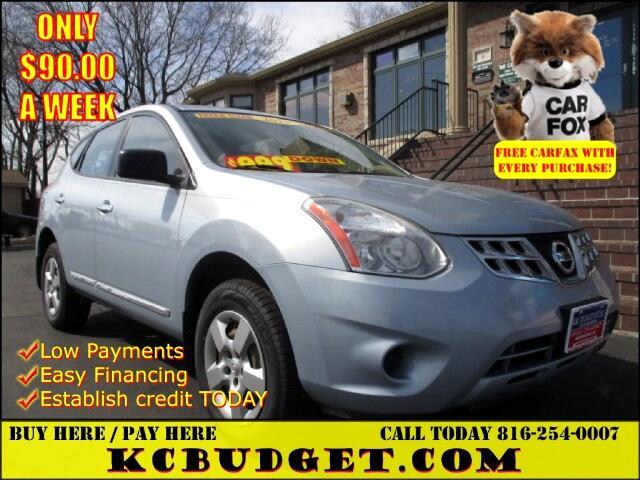 2013 Nissan Rogue S AWD