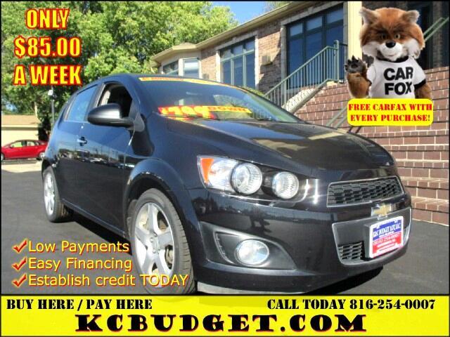 2015 Chevrolet Sonic LTZ Auto 5-Door