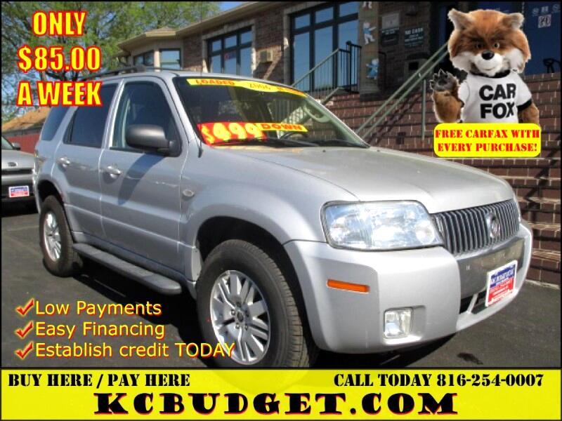 2006 Mercury Mariner Luxury 2WD