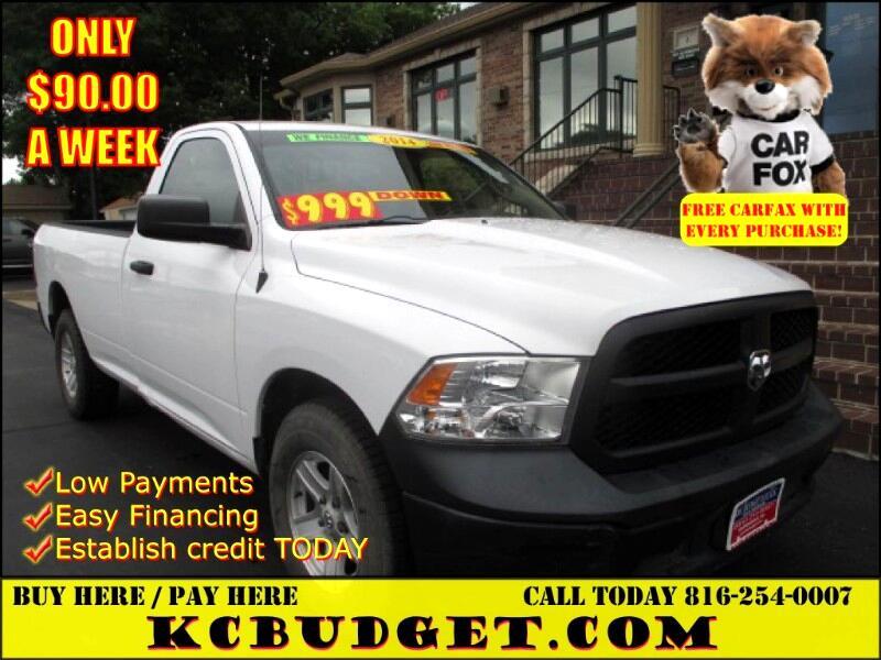 2014 RAM 1500 Tradesman Regular Cab LWB 2WD
