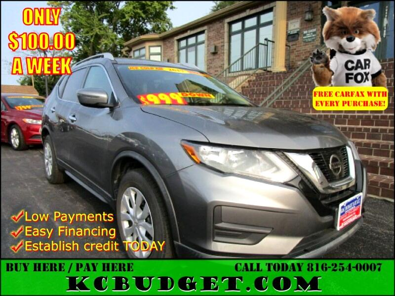 Nissan Rogue 2017.5 FWD S 2017
