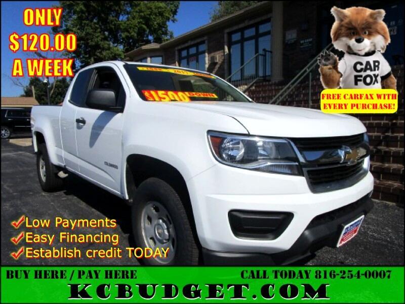 """Chevrolet Colorado 2WD Ext Cab 128.3"""" WT 2017"""