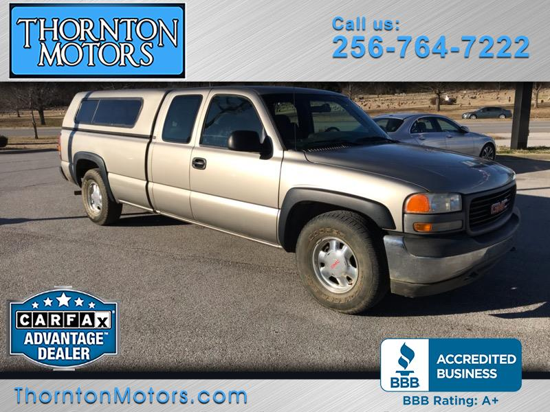 2001 GMC Sierra 1500 SL Ext. Cab Long Bed 2WD