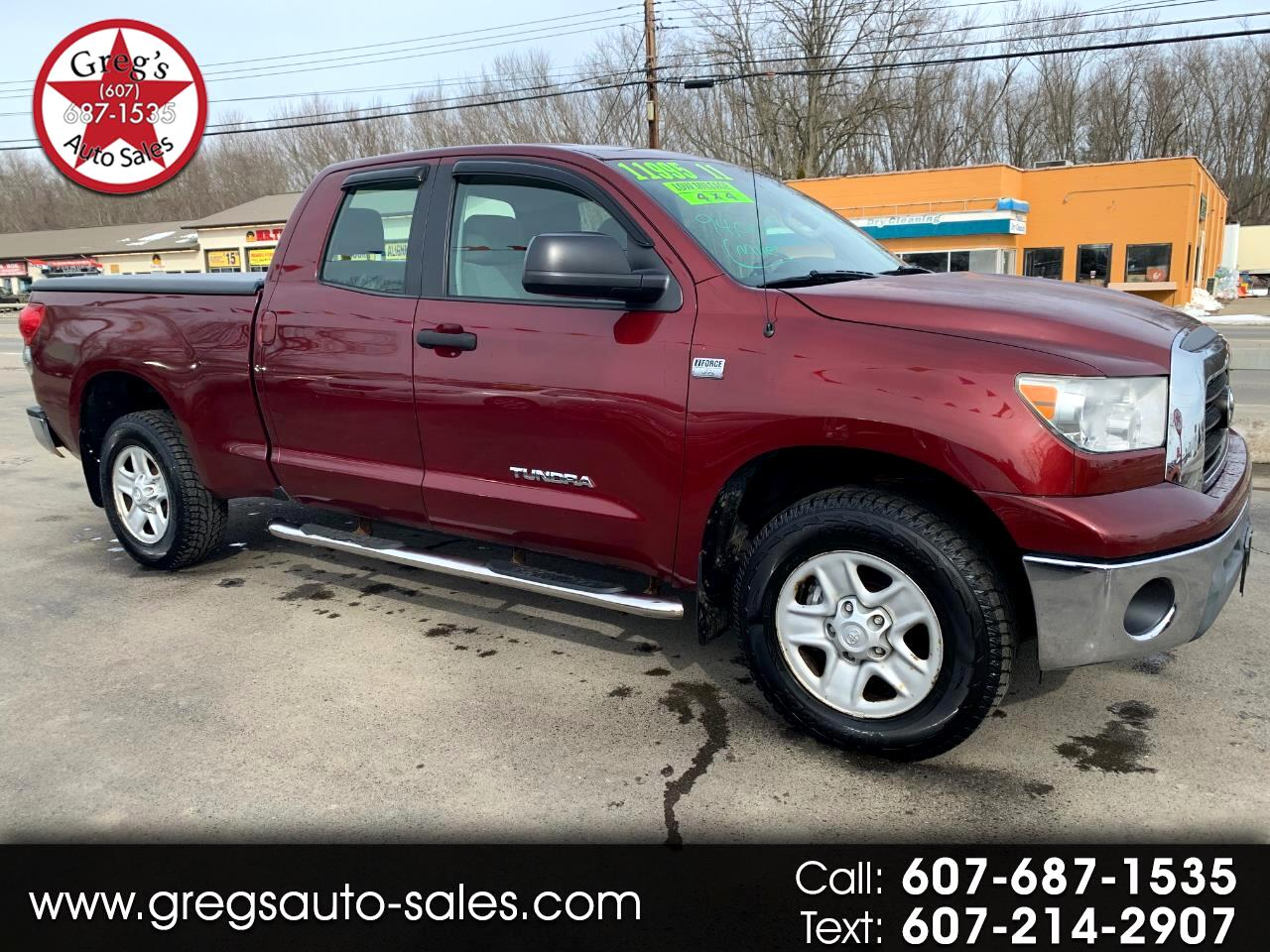 Toyota Tundra Base Double Cab 4.7L 4WD 2008
