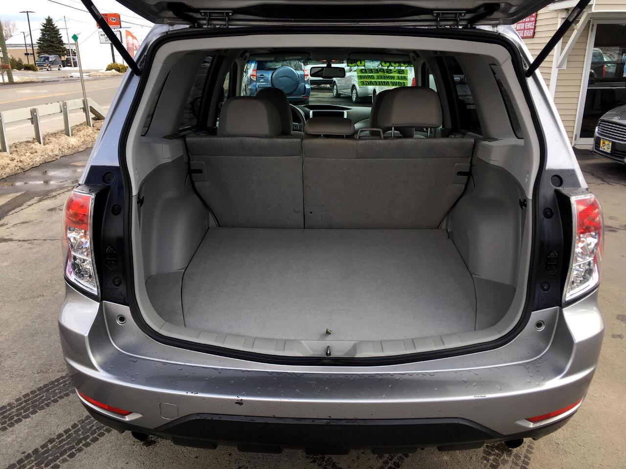 Subaru Forester (Natl) 4dr Man X w/Prem/All-Weather 2009