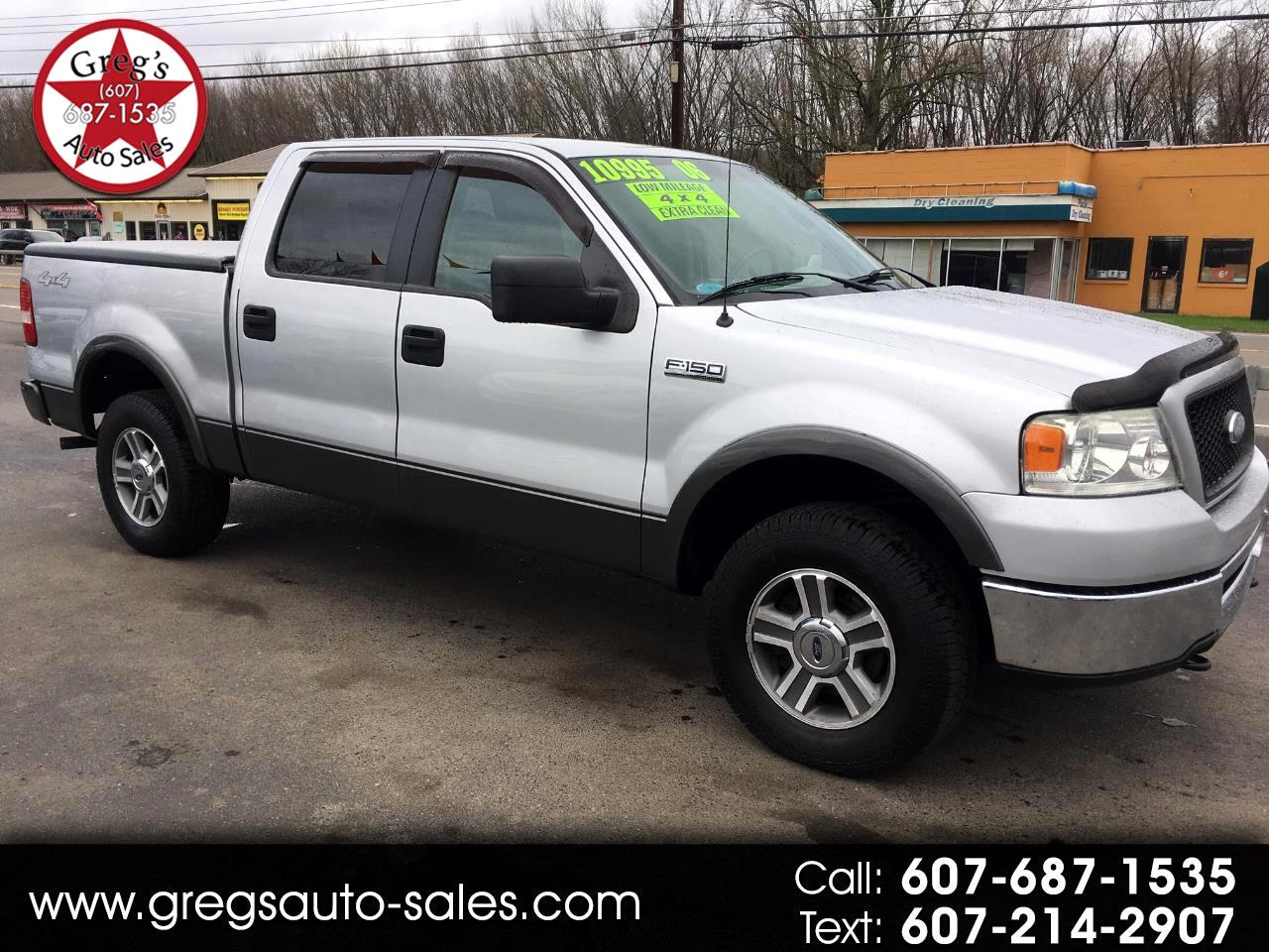"2006 Ford F-150 SuperCrew 139"" XLT 4WD"