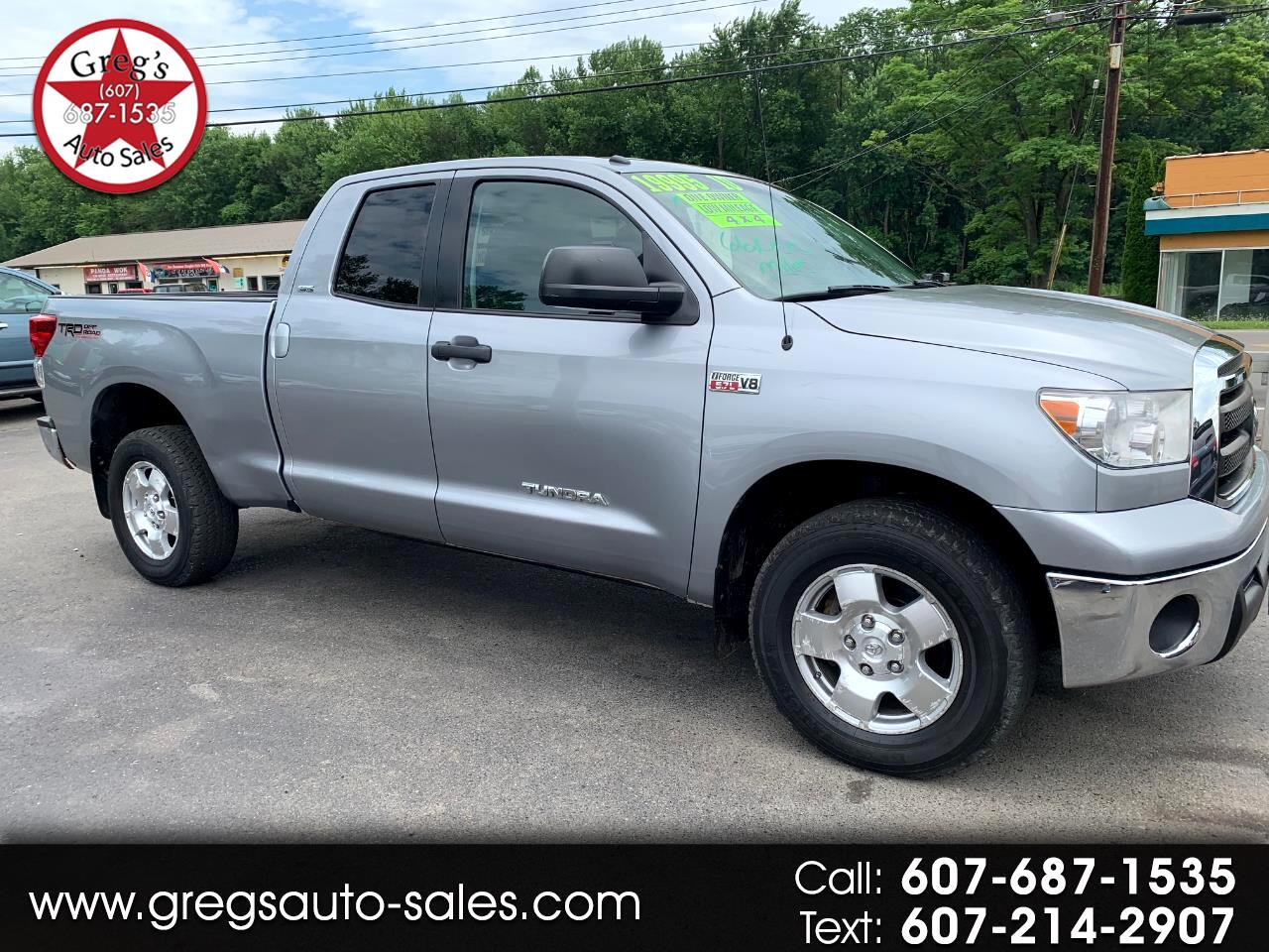 2010 Toyota Tundra 4WD Truck Dbl 5.7L V8 6-Spd AT (Natl)