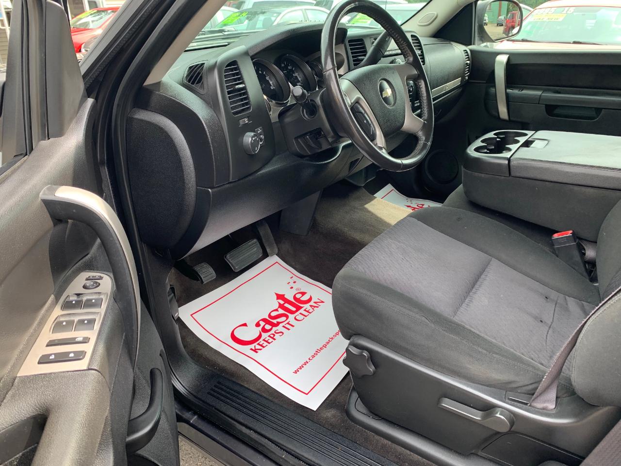 2010 Chevrolet Silverado 1500 4WD Ext Cab 143.5