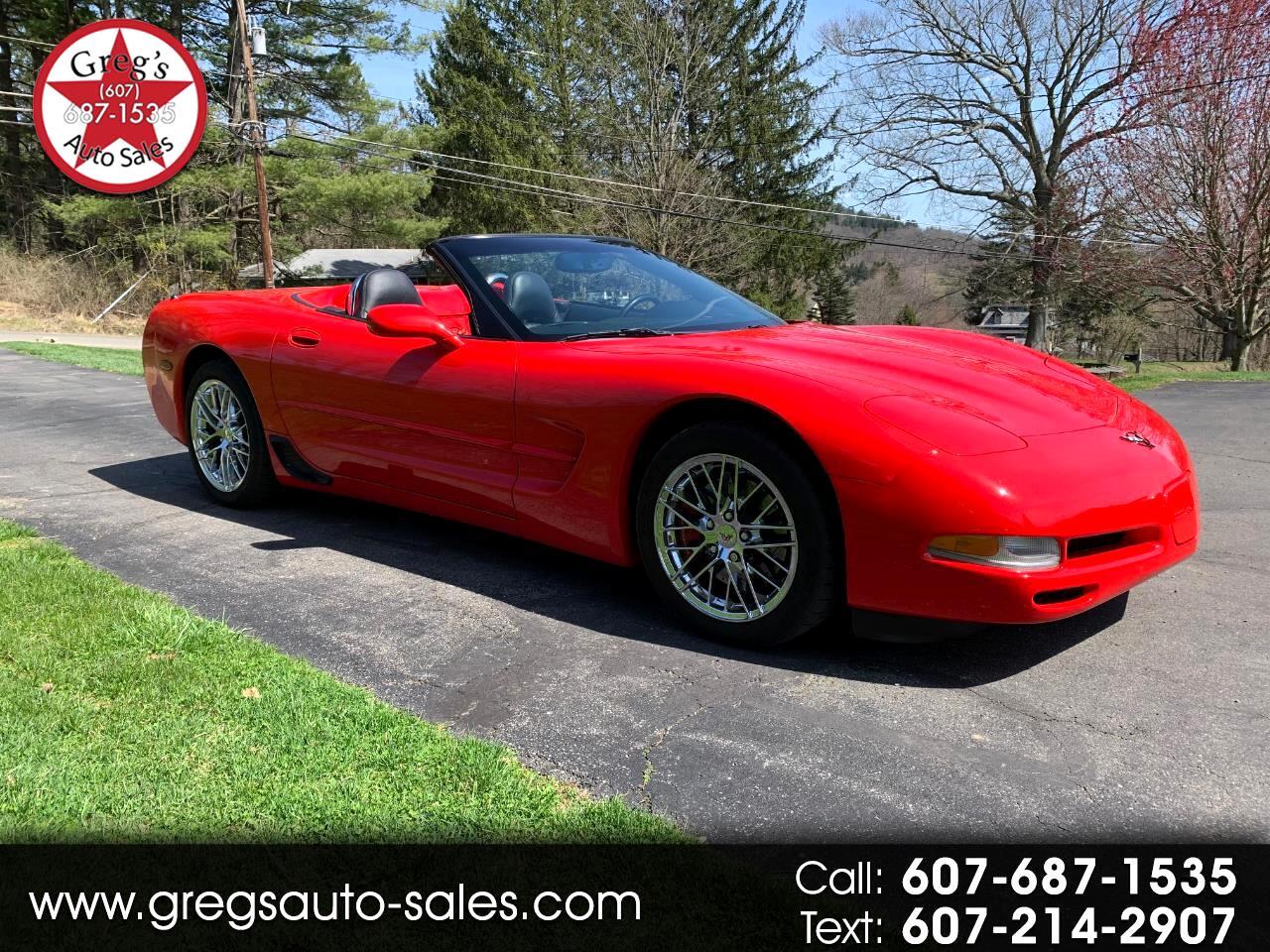 Chevrolet Corvette 2dr Convertible 2002