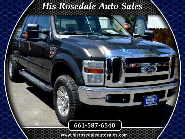 2008 Ford F-350 SD Lariat Crew Cab Short Bed 4WD