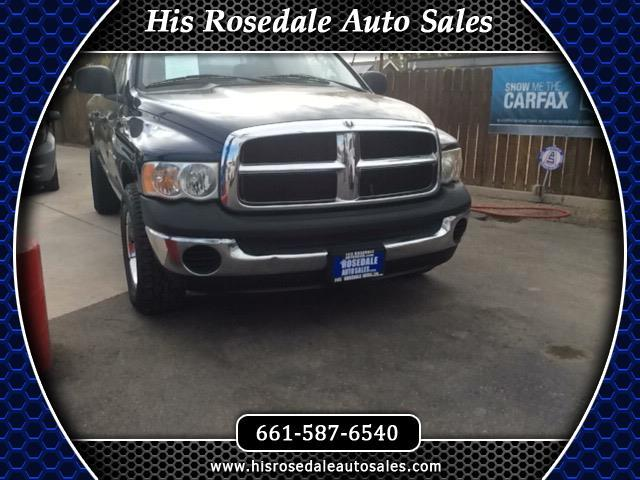 2005 Dodge Ram 1500 ST Quad Cab Short Bed 2WD