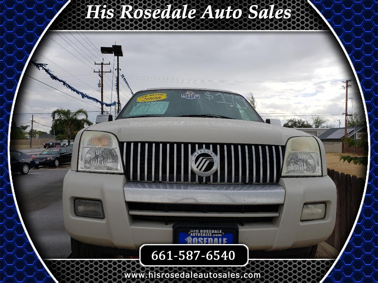 2006 Mercury Mountaineer 4dr Premier w/4.6L
