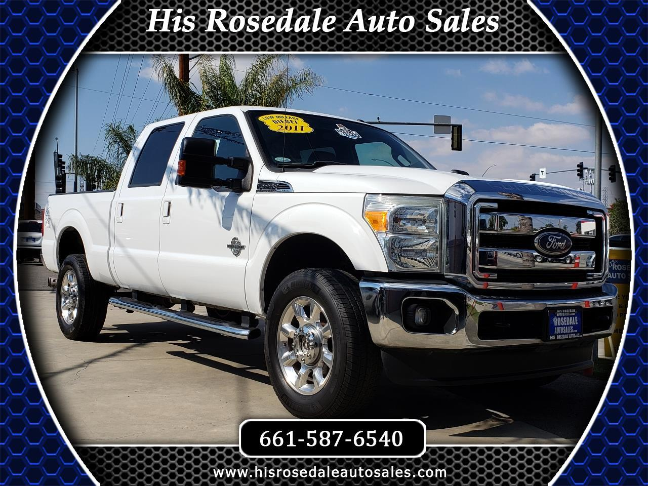 "2011 Ford Super Duty F-350 SRW 4WD Crew Cab 156"" King Ranch"