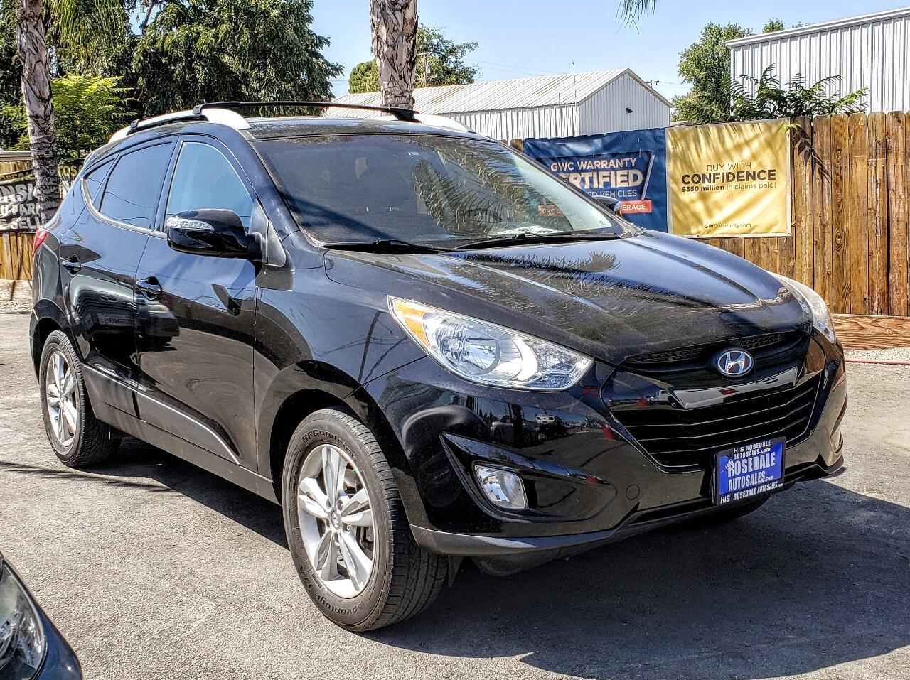 Hyundai Tucson FWD 4dr I4 Man GLS 2013