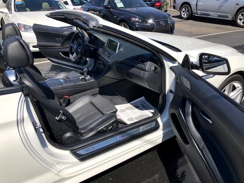 2015 BMW 6-Series 640i xDrive Convertible