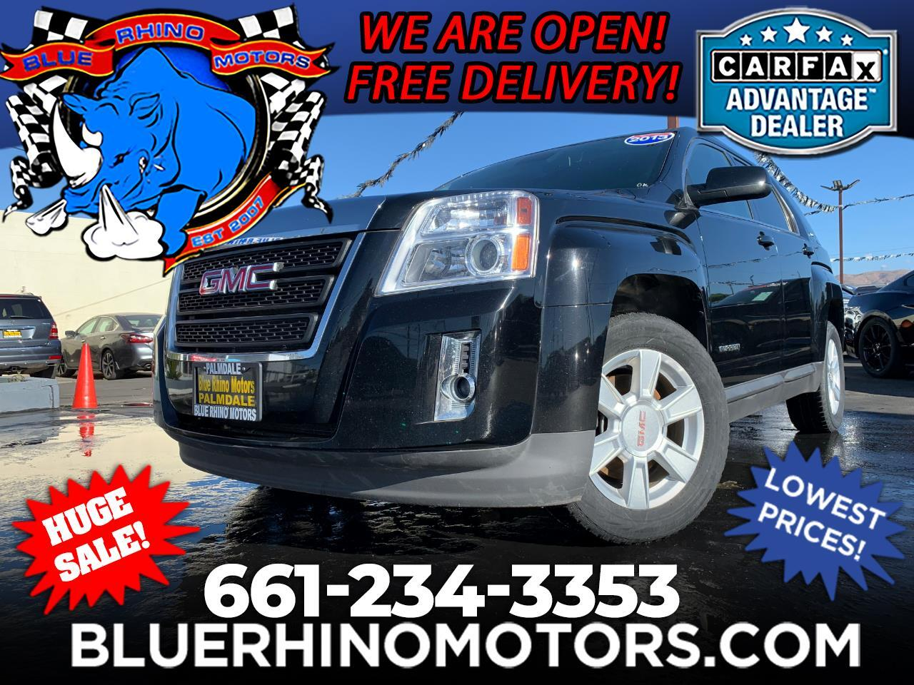 used 2013 gmc terrain sle2 fwd for sale in palmdale ca 93550 blue rhino motors palmdale blue rhino motors