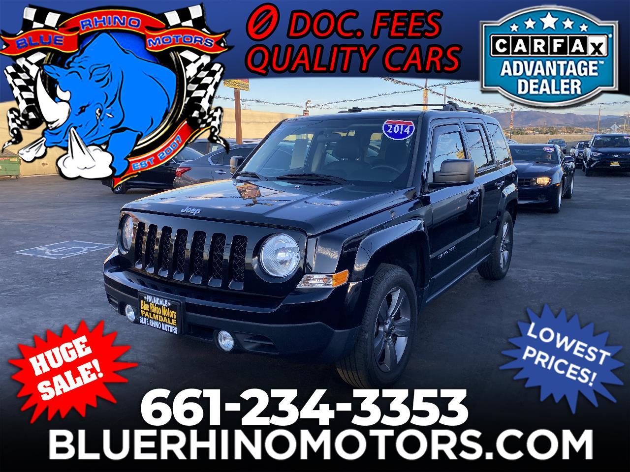 Jeep Patriot Latitude 2WD 2014