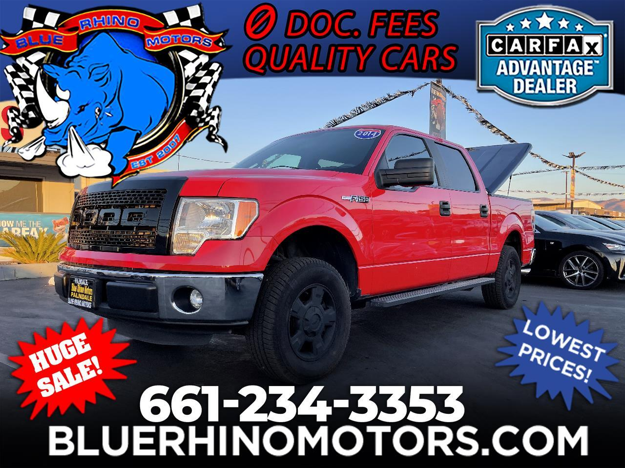 Ford F-150 XLT SuperCrew 6.5-ft. Bed 2WD 2014