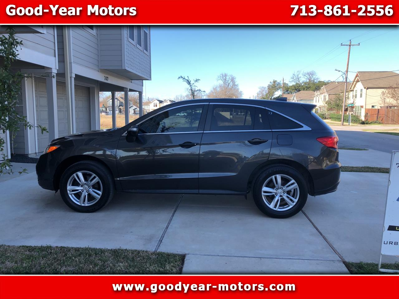 Acura RDX 6-Spd AT w/ Technology Package 2013