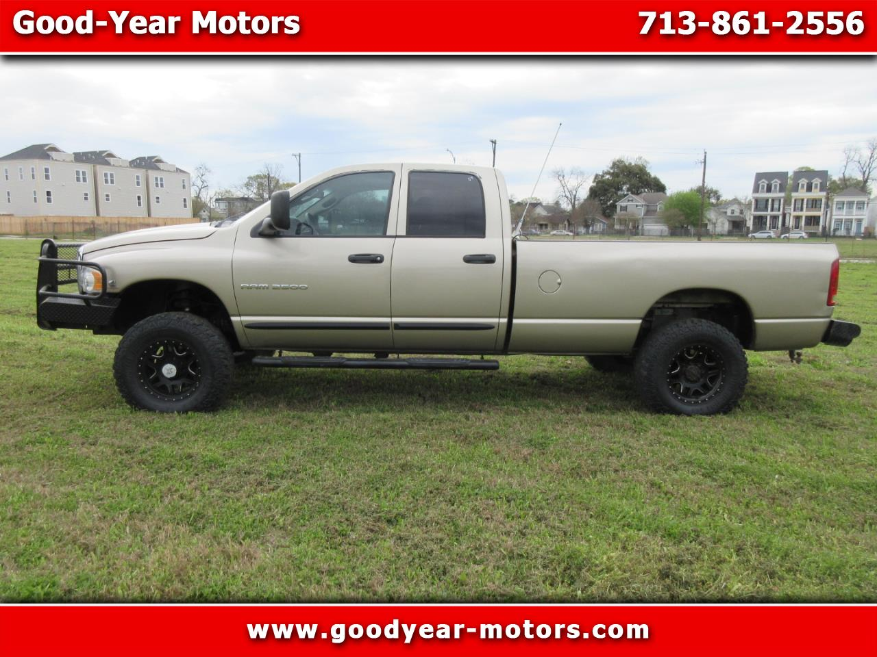 2005 Dodge Ram 2500 SLT Quad Cab Long Bed 4WD