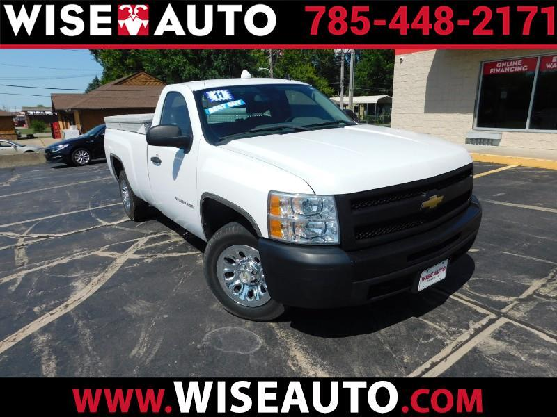2011 Chevrolet Silverado 1500 Work Truck Long Box 2WD