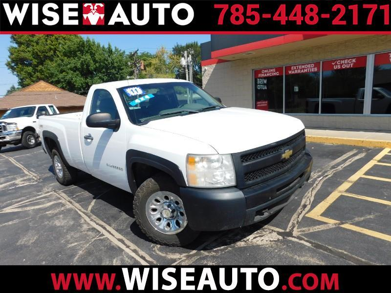 Chevrolet Silverado 1500 Work Truck Long Box 4WD 2011