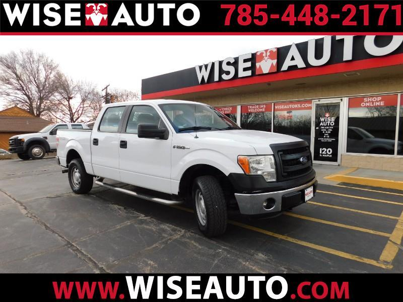 "Ford F-150 4WD SuperCab 145"" XL 2014"